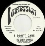 "45Re ✦THE DIRTY SHAMES✦ ""I Don't Care / Makin' Love"" Monster '66 Garage. Hear♫"